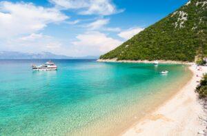 Paradise,Beach,In,Peljesac,Peninsula,In,Dalmatia,,Croatia