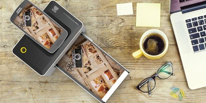 Kodak Dock & Wi-Fi Portable Instant Photo Printer, 645 kn