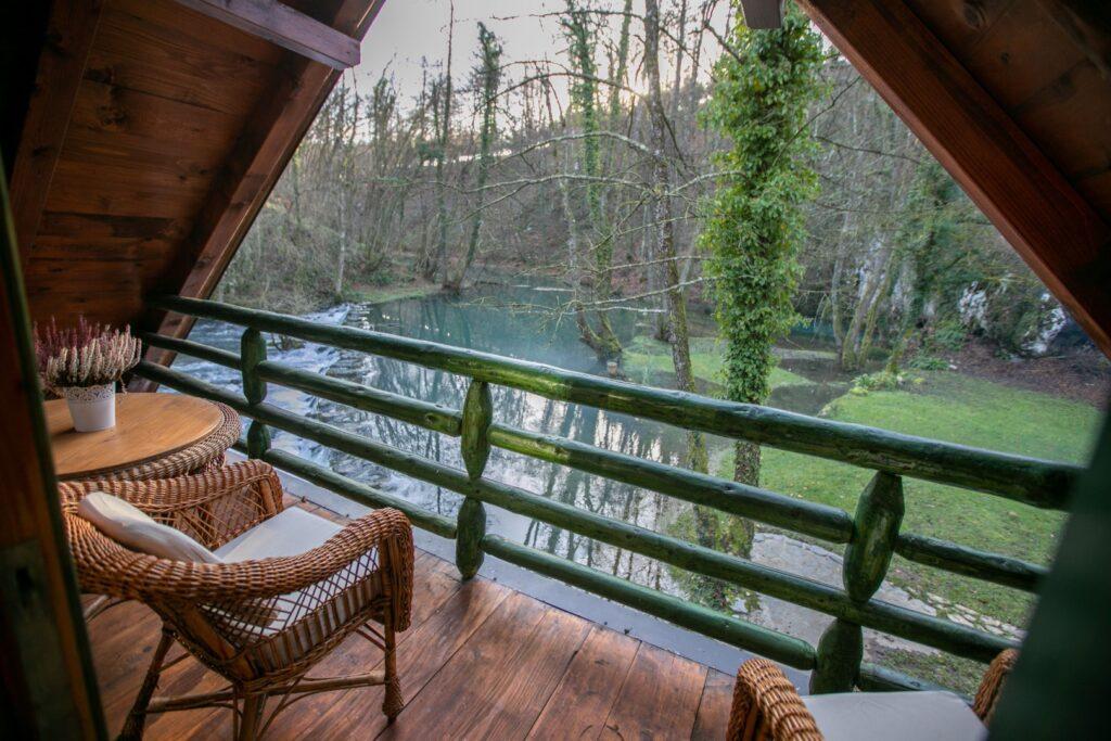 Bistrica Cottage croatia balcony view