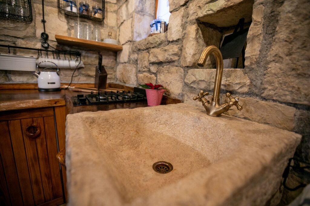 Bistrica Cottage croatia kitchen details