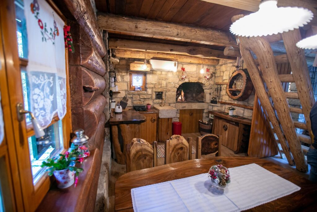 Bistrica Cottage croatia kitchen