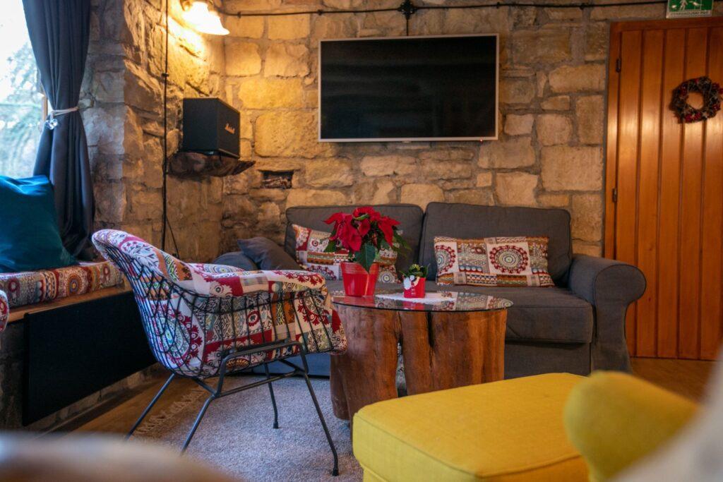 Bistrica Cottage croatia living room