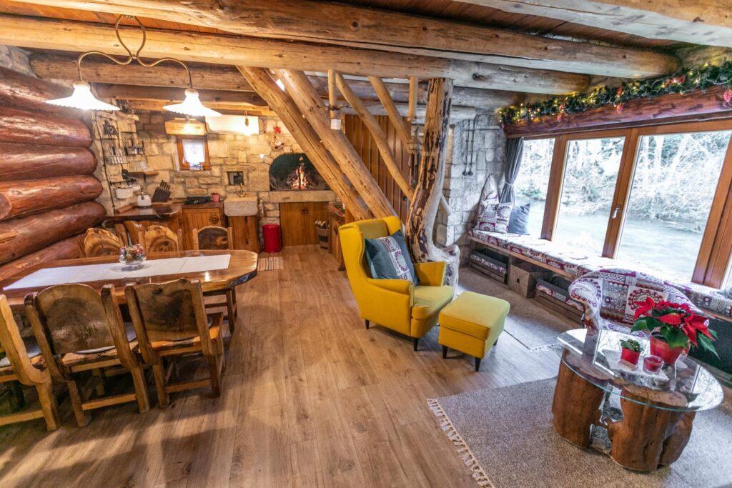 Bistrica Cottage croatia interior living room