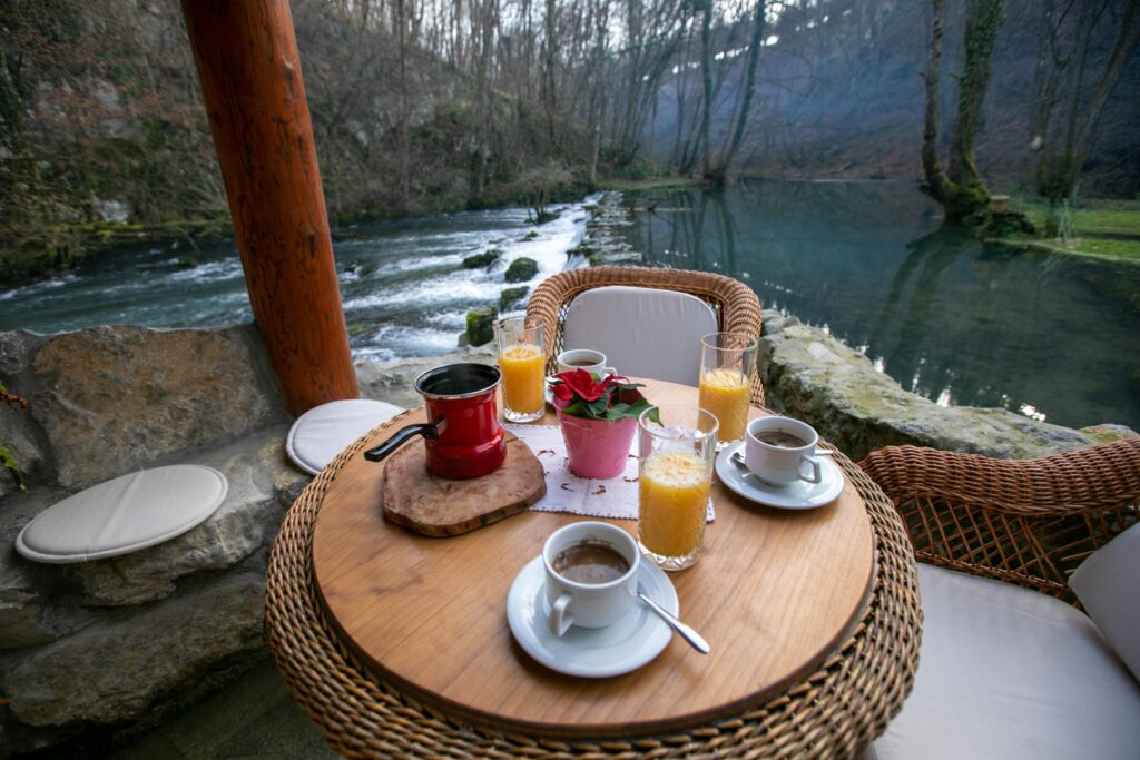Bistrica Cottage croatia terrace