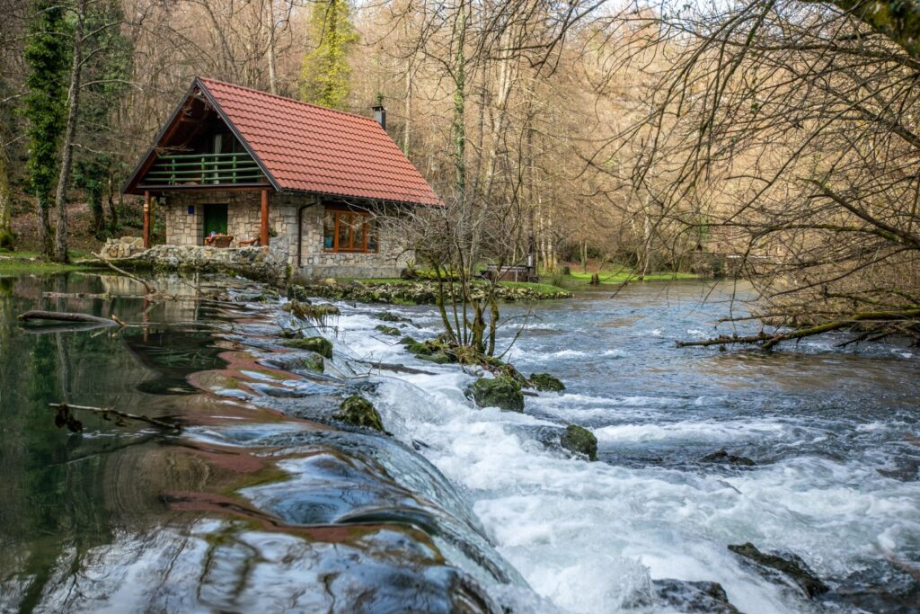 Bistrica Cottage croatia home on the river