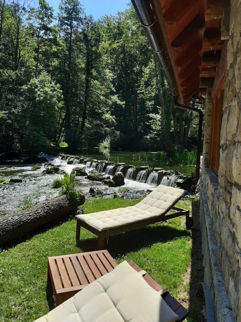 Bistrica Cottage croatia waterfalls