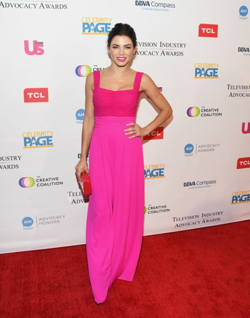 LOS ANGELES, CA - SEPTEMBER 15: Actress Jenna Dewan arrives at 2018 Television Advocacy Awards Benefiting The Creative Coalition at the Sofitel Los Angeles At Beverly Hills on September 15, 2018 in Los Angeles, California. (Photo by Amanda Edwards/Getty Images)