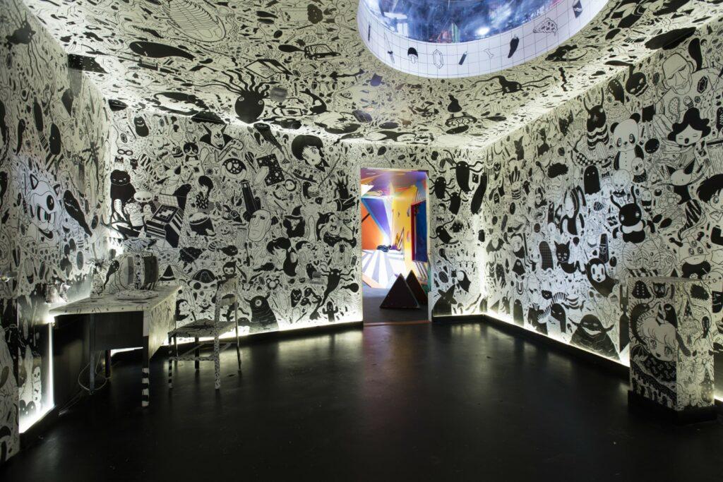 Meow Wolf's House of Eternal Return, Nico Salazar's Room