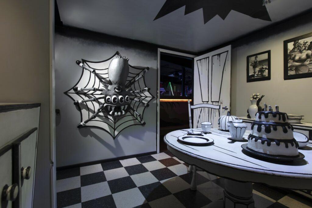 2018 Halloween enhancements at the House of Eternal Return.