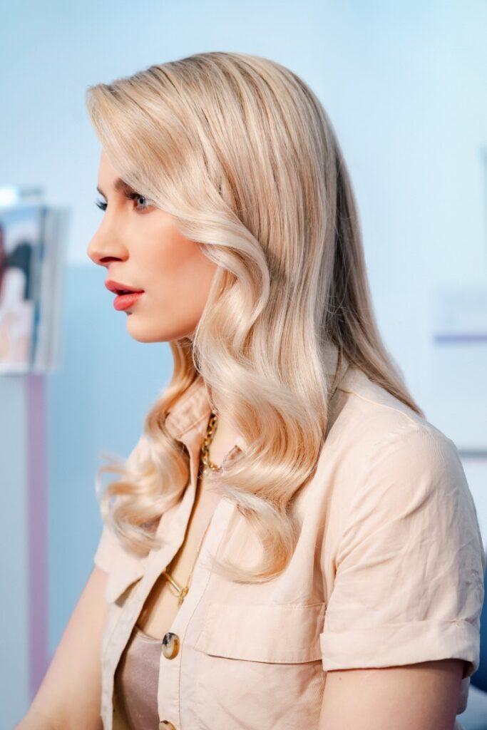 Semi Color Keune beautiful hair woman2