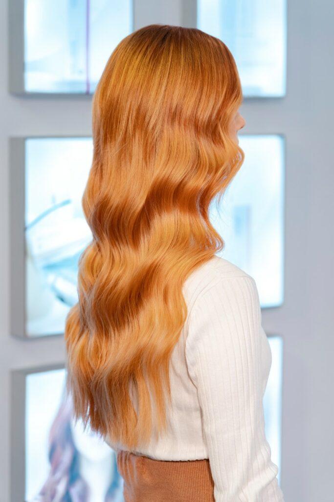 Semi Color Keune beautiful hair woman