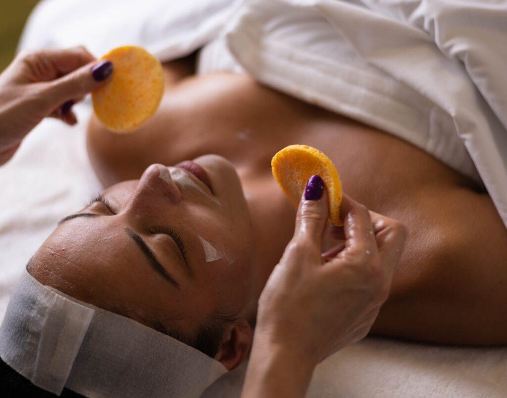 Peeling treatment_Melissa Dupont