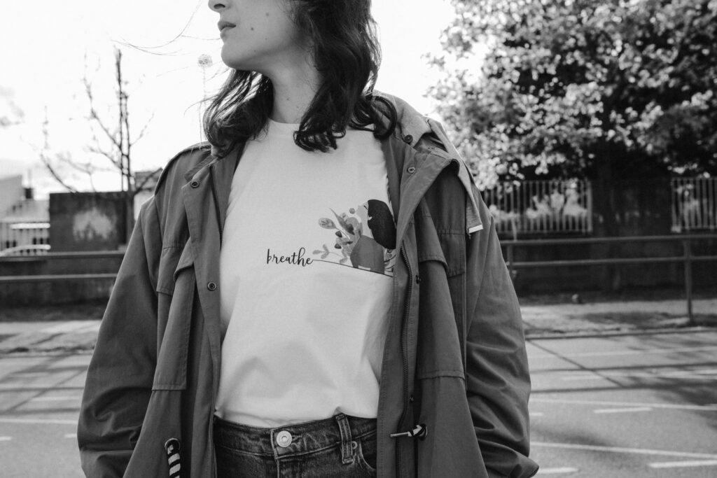 lara žigić breathe t-shirt