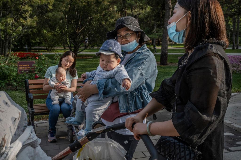 kina troje djece, popis stanovništva
