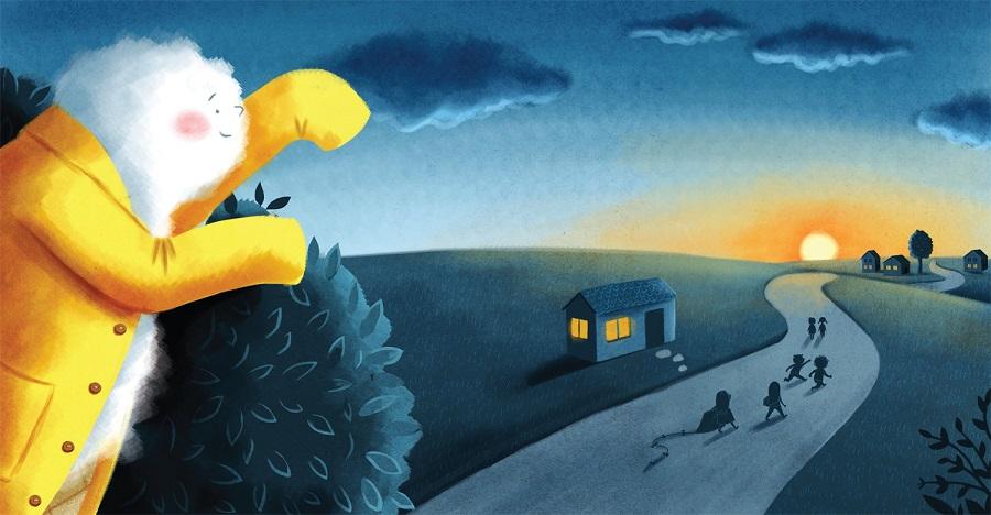 jelena brezovec ilustracija oblak