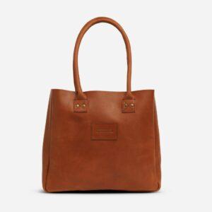 Parker Clay brown bag handle