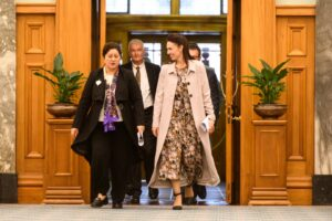 Prime Minister Jacinda Ardern Announces New Governor-General Of New Zealand Cindy Kiro