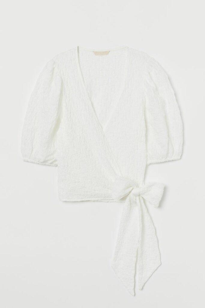 H&M Wrapover top, 119 kn
