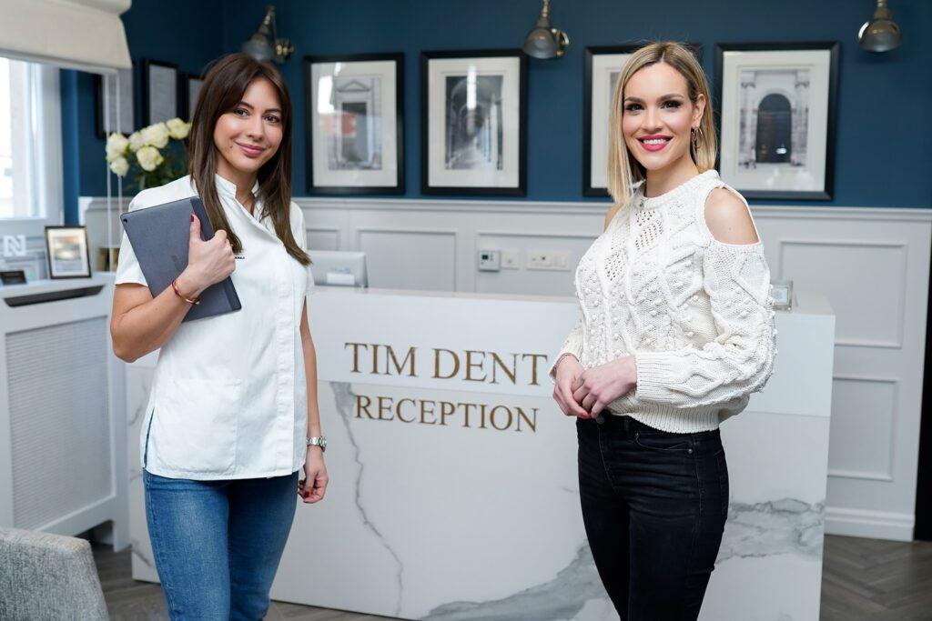 dr. Tamara Zaja Milicic i Ana Radisic TIM DENT Miličić