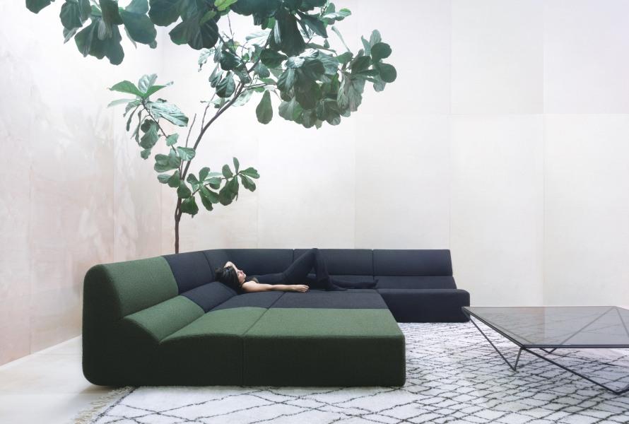 Layout kauč, Prostoria
