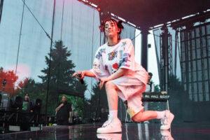 Billie Eilish Performs At Marymoor Park