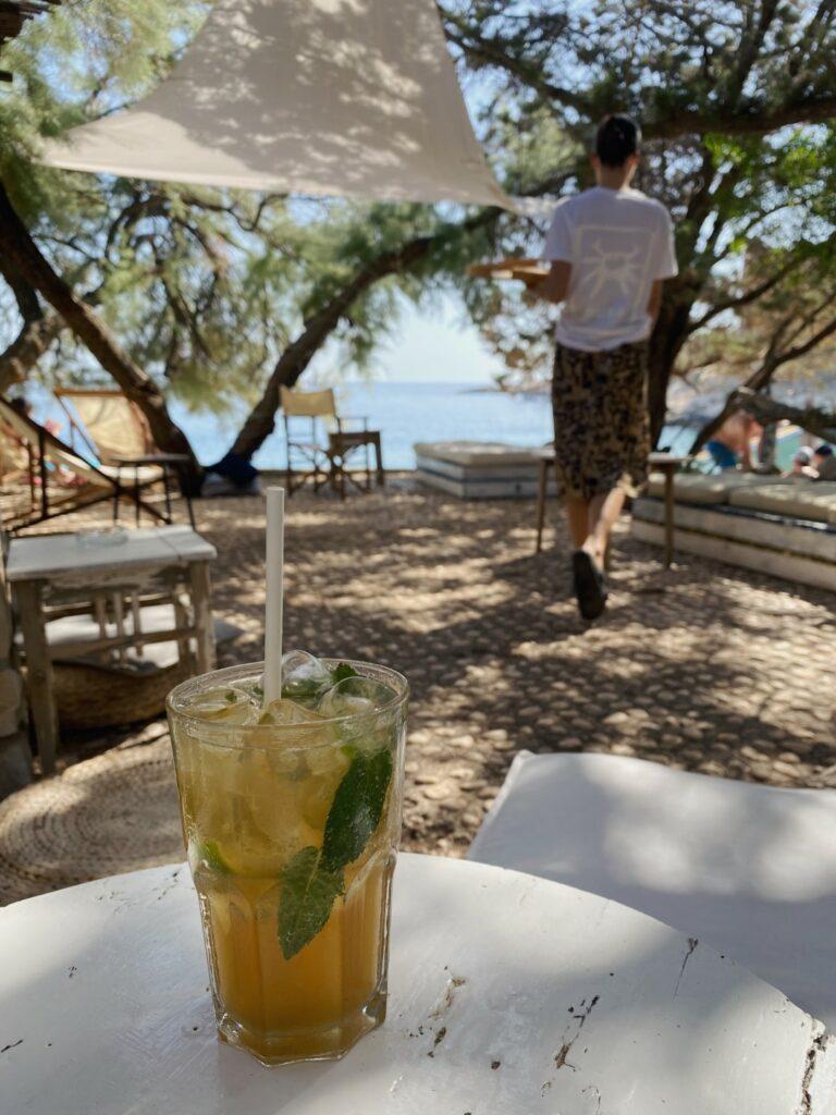 Duba Beach Bar mojito