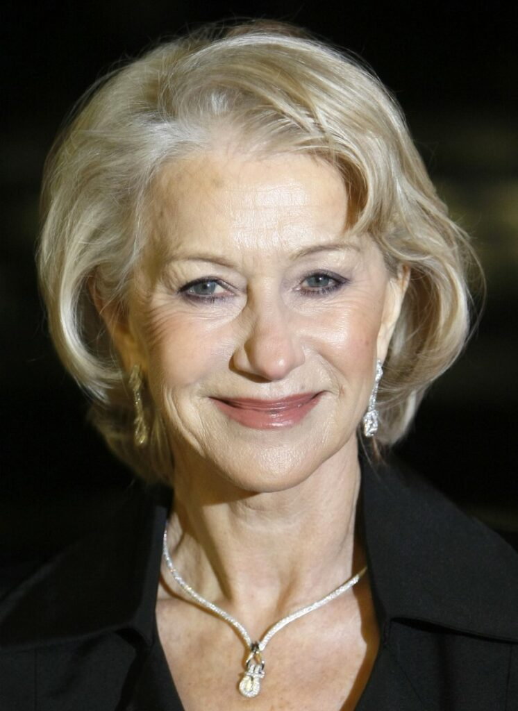 """FILE - In this Jan. 26, 2010 file photo, Helen Mirren arrives at the UK premiere of """"The Last Station,"""" in London. Mirren was nominated, Tuesday, Feb. 2, 2010 for an Oscar for best actress for her role in, """"The Last Station."""" The 82nd Academy Awards will be presented on March 7. (AP Photo/Alastair Grant, file)"""