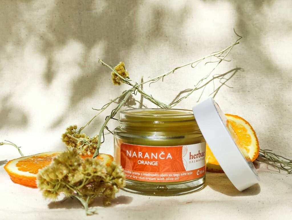 Herbae Dalmatiae krema od naranče