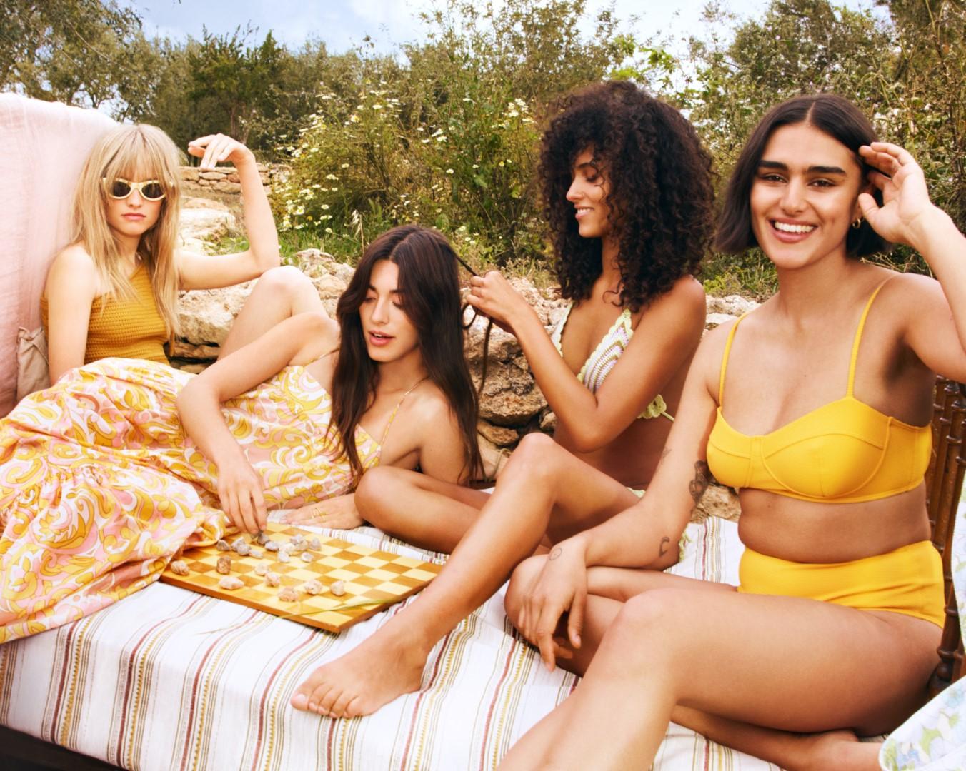 The Sun is everywhere_1 Mango campaign girls