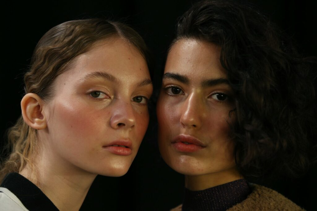 SYDNEY, AUSTRALIA - MAY 15: Models pose backstage ahead of the Karla Spetic show at Mercedes-Benz Fashion Week Resort 20 Collections at Carriageworks on May 15, 2019 in Sydney, Australia. (Photo by Lisa Maree Williams/Getty Images)