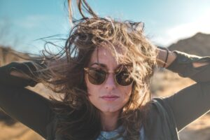veeterzy-woman close up with sunglasss