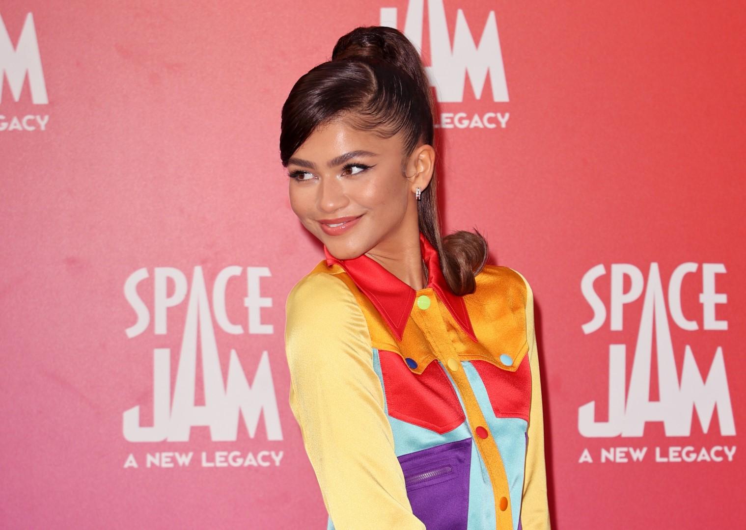 "zendaya on Premiere Of Warner Bros ""Space Jam: A New Legacy"" - Arrivals"