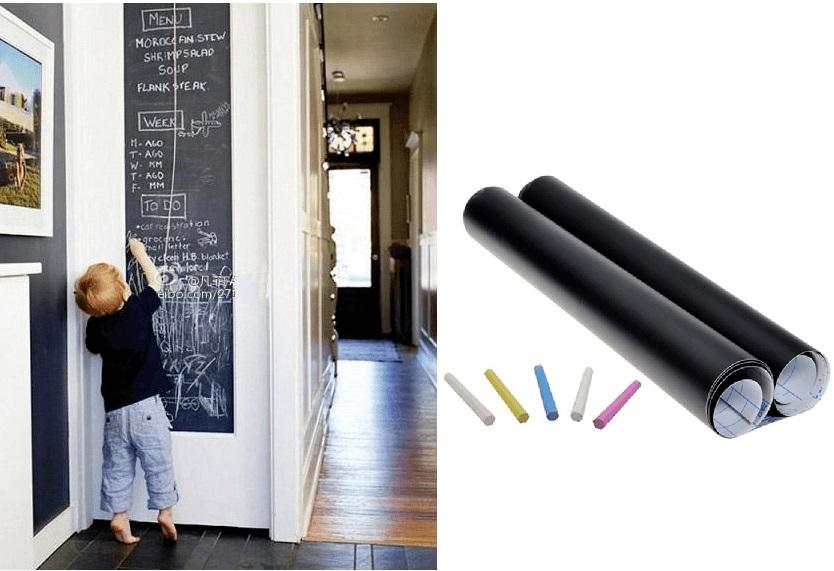 Crna naljepnica za pisanje kredom, 75 kn, Budi cool