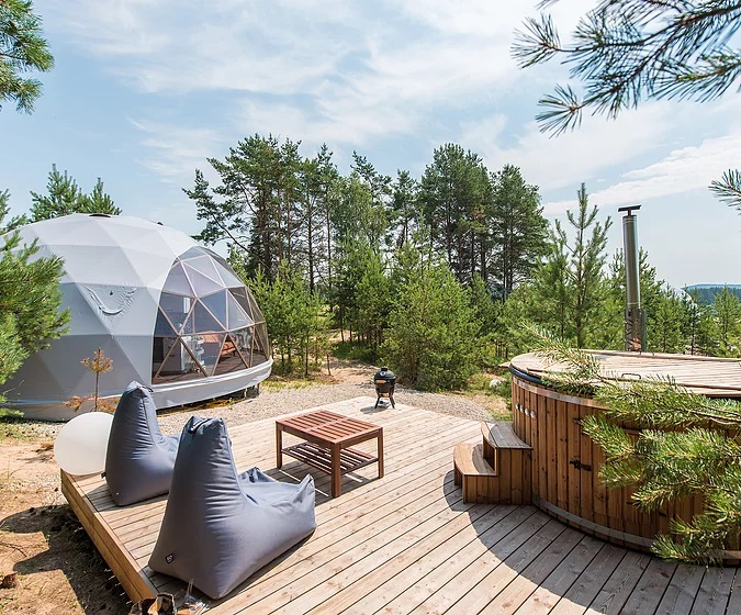 Forest Domes in lithuania