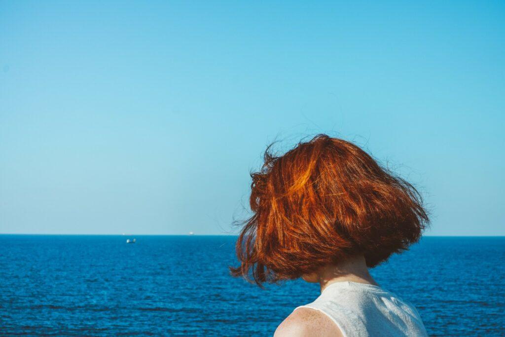 mert-kahveci-hair model and the sea