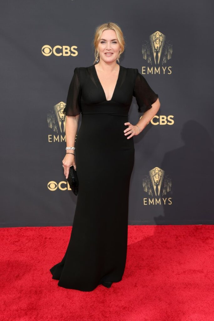 LOS ANGELES, CALIFORNIA - SEPTEMBER 19: Kate Winslet attends the 73rd Primetime Emmy Awards at L.A. LIVE on September 19, 2021 in Los Angeles, California. (Photo by Rich Fury/Getty Images)