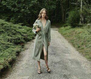 Massimo Dutti autumn dress