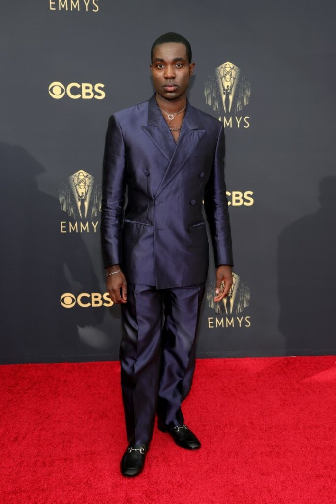 LOS ANGELES, CALIFORNIA - SEPTEMBER 19: Paapa Essiedu attends the 73rd Primetime Emmy Awards at L.A. LIVE on September 19, 2021 in Los Angeles, California. (Photo by Rich Fury/Getty Images)