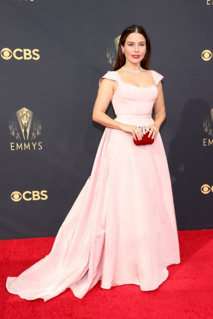 LOS ANGELES, CALIFORNIA - SEPTEMBER 19: Sophia Bush attends the 73rd Primetime Emmy Awards at L.A. LIVE on September 19, 2021 in Los Angeles, California. (Photo by Rich Fury/Getty Images)