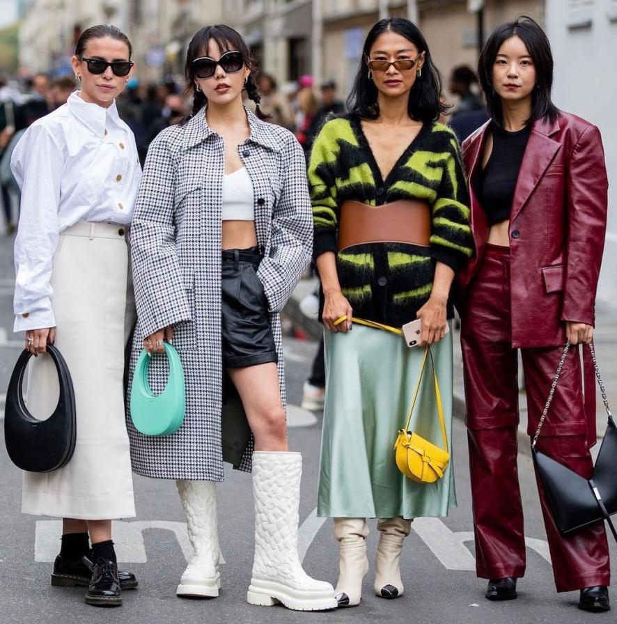 Street style tijekom Paris Fashion Weeka_SS 22
