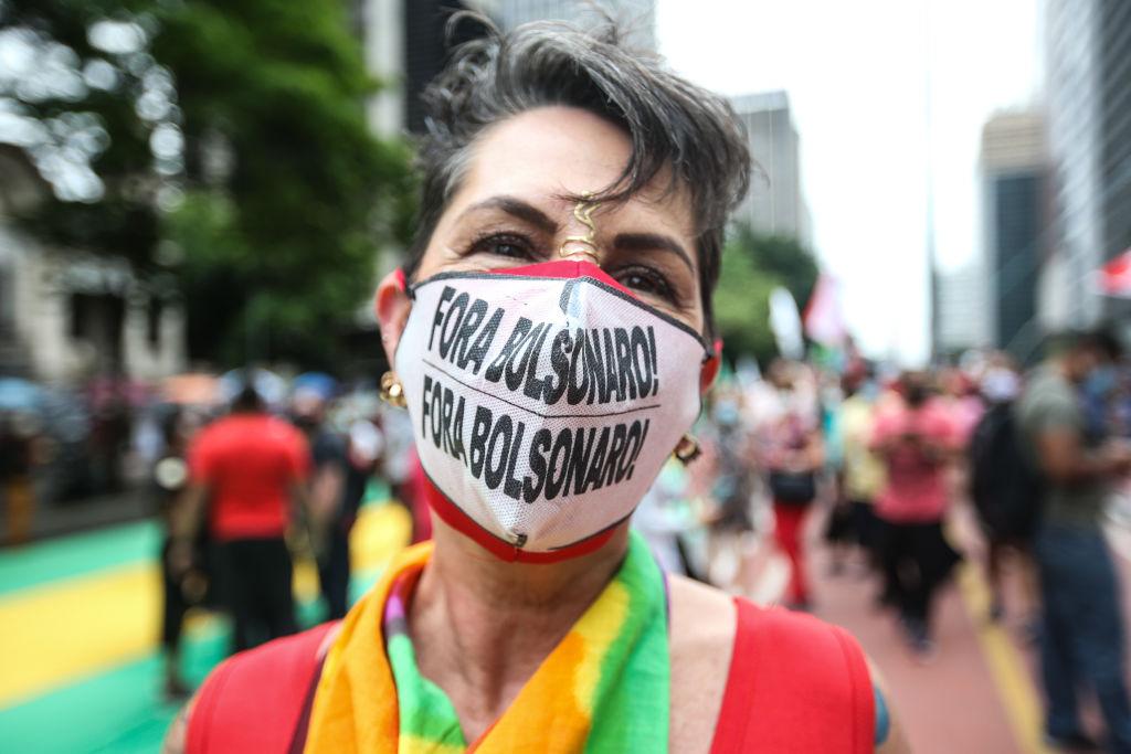 Brazilci prosvjeduju protiv predsjednika Bolsonara
