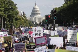 Prosvjed Women's March u Washingtonu